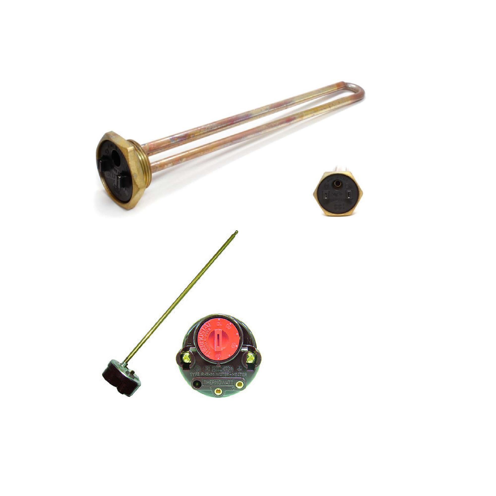 Kit thermowatt resistenza a vite per scaldabagno con for Scaldabagno idraulico con pex