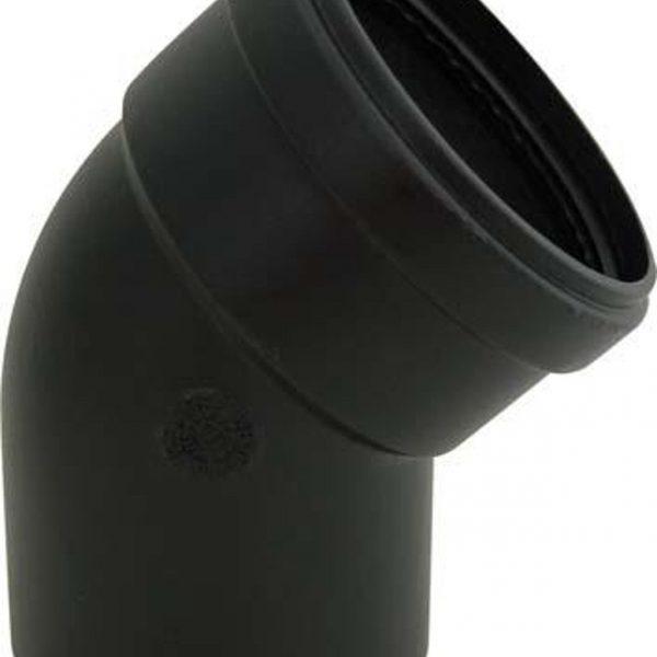 Accessori stufa pellet tubi alluminio nero diametro80mm - Tubi x stufa a pellet ...